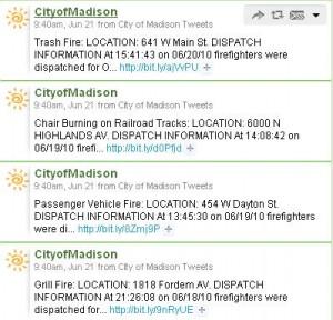 City of Madison Tweets