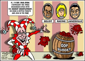 Paul Ryan is the court jester
