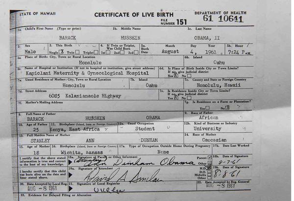 President Obama releases long form birth certificate, birthers still ...