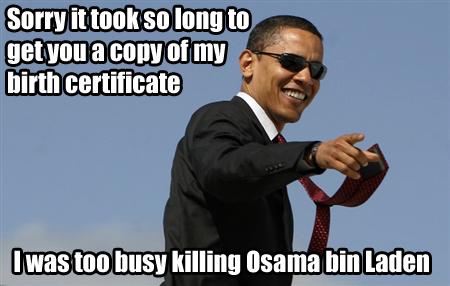 bringing osama bin laden. to ring Osama bin Laden