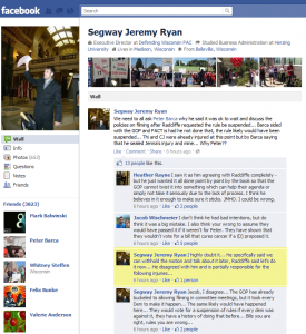 Jeremy Ryan's Facebook page