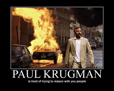 Paul Krugman is Tired