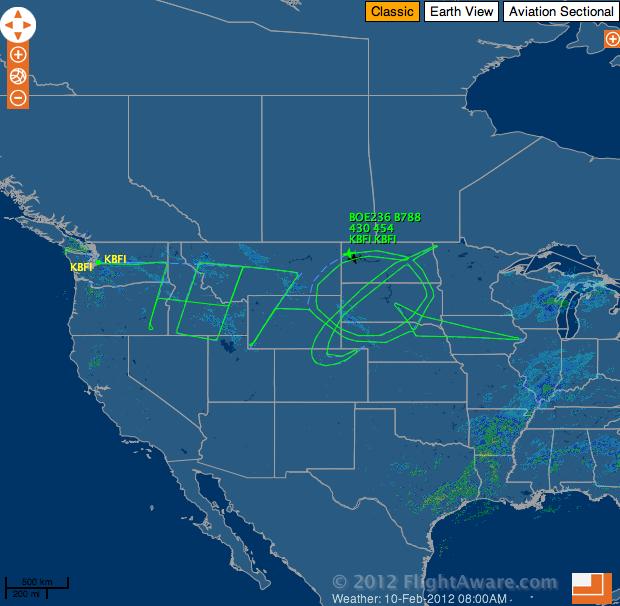 Boeing 787 Across America