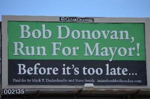 Donovan billboard