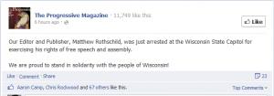 Matthew Rothschild arrested