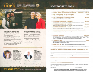 Tonette Walker and Phil Robertson