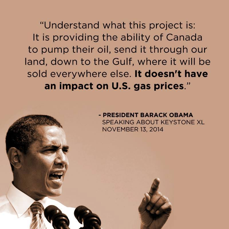 The President On The Keystone XL Pipeline