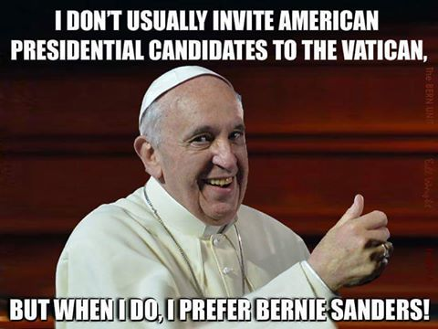 pope and sanders